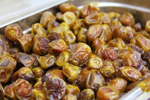 gastronomia de algeria datiles dulces