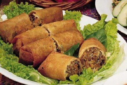 Poa Pee (Rollos de huevo tailandeses)