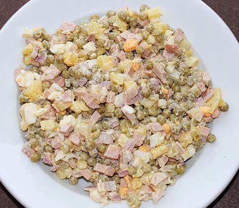Salat Olivier (Ensalada Rusa)
