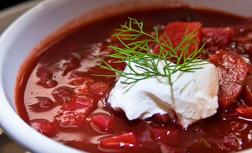 borscht sopa remolacha