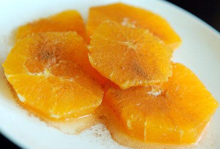 ensalada de naranja brasileña